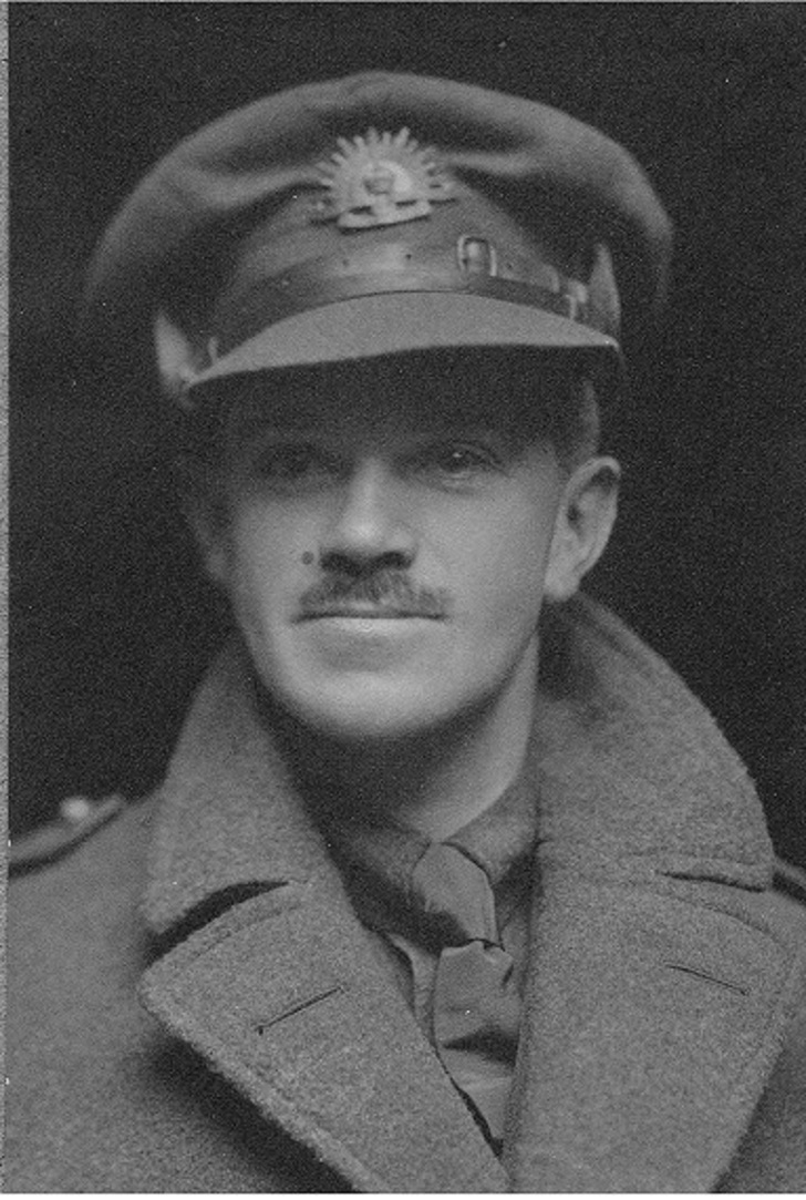 Lieutenant John Grant, First World War, in London.jpg