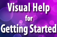 Visual Help for Getting Started